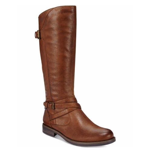 Corrie Wide-Calf Riding Boots by Bare Traps in Free Fire