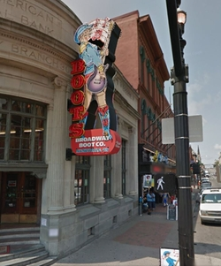 Nashville, Tennessee by Broadway Boot Company in Master of None