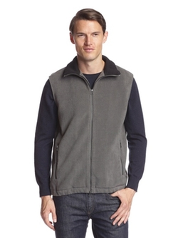 Bonded Fleece Zip Vest by Surfside Supply in The Blacklist