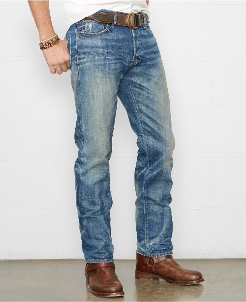 Straight-Fit Hunter Jeans by Ralph Lauren Denim & Supply in The Visit