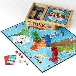 Risk Nostalgia Board Game by Hasbro in While We're Young