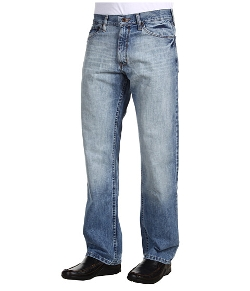 Relaxed Fit Light Wash Cross Hatch Jeans by Nautica in McFarland, USA