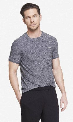 Exp Core Crew Neck Tee Shirt by Express in While We're Young