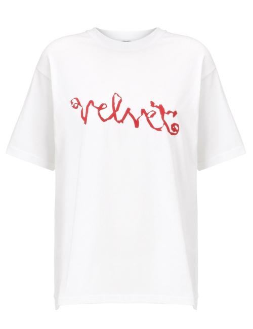 Cotton Velvet T-Shirt by Meadham Kirchhoff in Kill Bill: Vol. 1