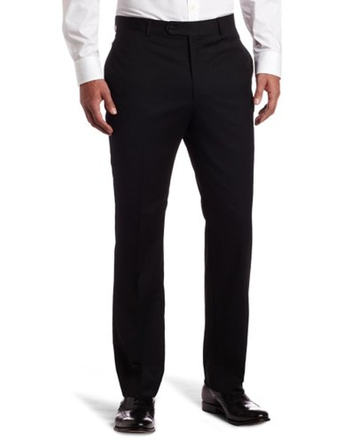 Men's Flat-Front Suit Separate Pants by Tommy Hilfiger in Grease