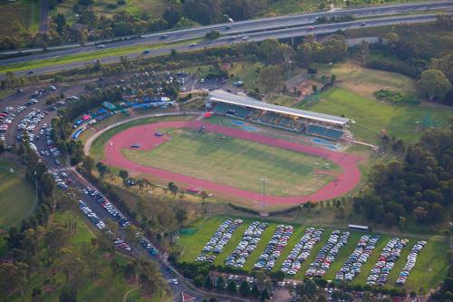 Blacktown International Sportspark Sydney, Australia in Unbroken