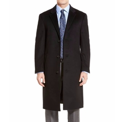 Sheffield Classic Fit Wool & Cashmere Overcoat by Hart Schaffner Marx in Suits