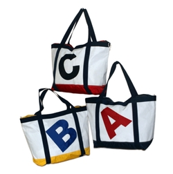 Alphabet Tote Bag by Re-Sails in Modern Family