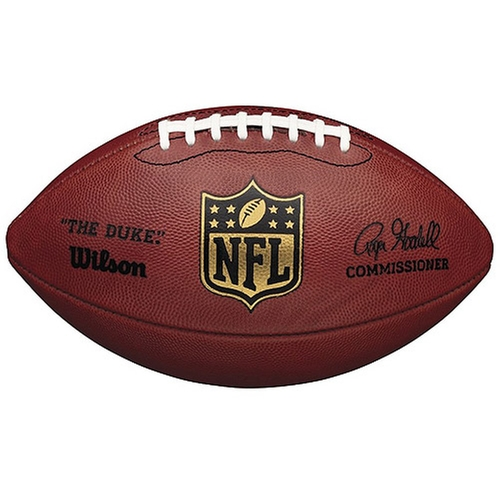 Official NFL Game Ball Football The Duke by Wilson in Let's Be Cops