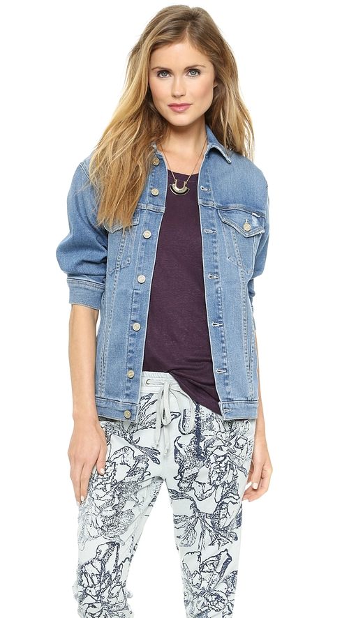 The Cronie Denim Jacket by Mother in Gone Girl