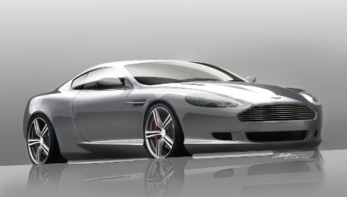 DB9 Car by Aston Martin in Spy