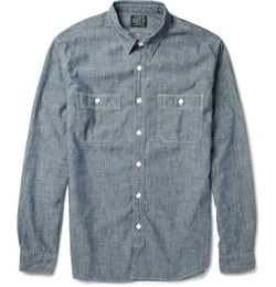 Cotton-Chambray Shirt by J. Crew in American Horror Story