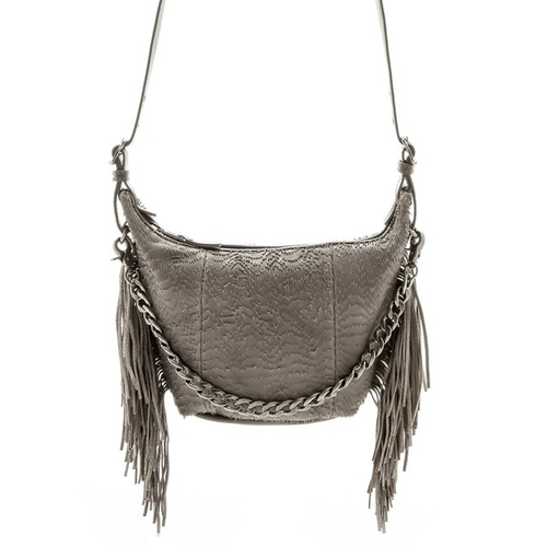 Bo Fringe Leather Crossbody Bag by Ash in Modern Family - Season 7 Episode 12