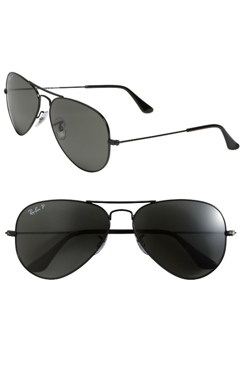 Polorized Original Aviator Sunglasses by Ray-Ban in The Counselor