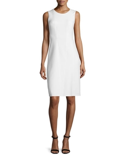 Alayna Sleeveless Sheath Dress by Elie Tahari in The Women