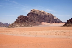 Wadi Rum, Jordan by Salman Zwaidh Camp (Depicted as Jedah) in Rogue One: A Star Wars Story