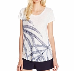Women's Palm Fronds T-Shirt by Lucky Brand in Jane the Virgin