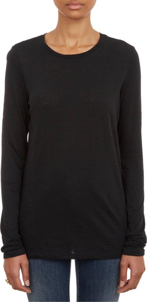 Long-sleeve Classic T-shirt by Proenza Schouler in The Gambler
