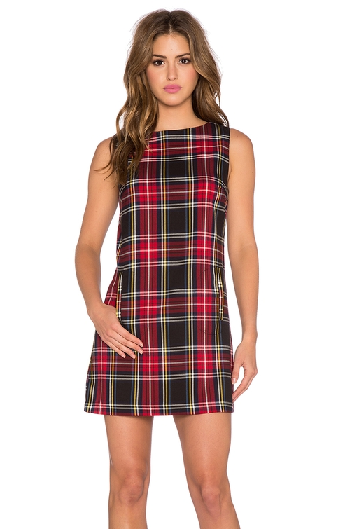 Harlow Plaid Dress by BB Dakota in The Mindy Project - Season 4 Episode 13