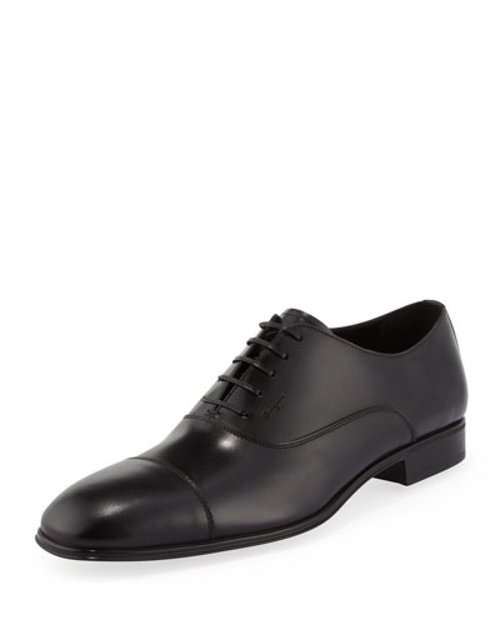 Remigio Cap-Toe Oxford Shoes by Salvatore Ferragamo	 in Crazy, Stupid, Love.
