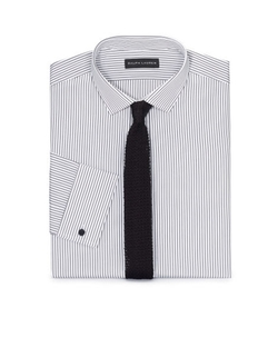 Tailored-Fit French-Cuff Shirt by Ralph Lauren in Ballers
