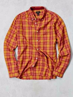 Wyatt Plaid Button Down Shirt by CPO in Popstar: Never Stop Never Stopping