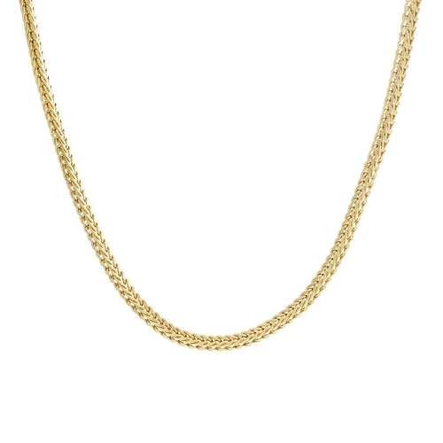 Gold Plated Foxtail Chain Neclace by Sterling Essentials in Me and Earl and the Dying Girl