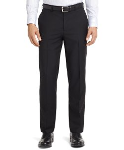 Fitzgerald Fit Plain-Front Mohair Dress Trousers by Brooks Brothers in While We're Young