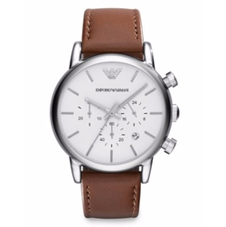 Stainless Steel Chronograph Watch by Emporio Armani in The Flash