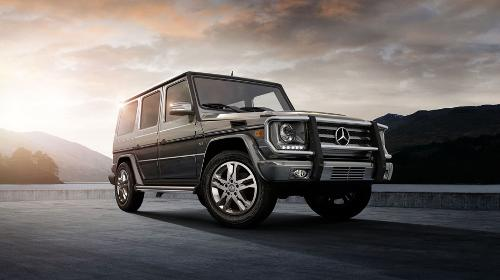 G-Class SUV by Mercedes-Benz in A Good Day to Die Hard