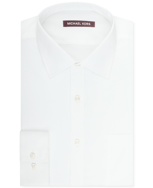 Solid Sateen Dress Shirt by Michael Kors in Suits - Season 5 Episode 10