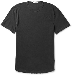 Crew Neck Cotton-Jersey T-Shirt by James Perse in Adult Beginners