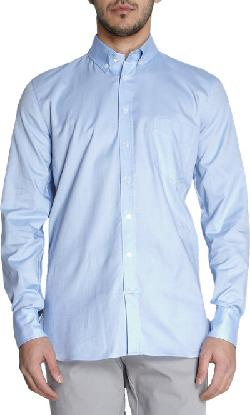 Button Down Collar Oxford Shirt by THINPLE in Million Dollar Arm