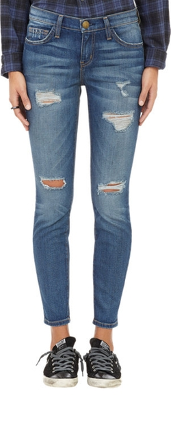 """The Stiletto"" Distressed Jeans by Current/Elliott in If I Stay"