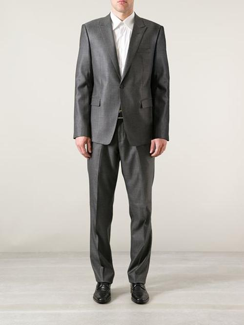 Classic Jacket And Trouser Suit by Emporio Armani in Savages