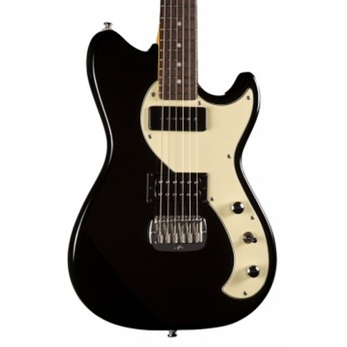 Gloss Black, Rosewood Electric Guitar by G&L Tribute Fallout in Jem and the Holograms