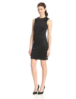 Mesh Insets Sleeveless Dress by Vince Camuto in The Longest Ride