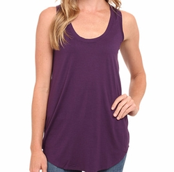 Lightweight Viscose Long Tank Top by Three Dots in Fuller House