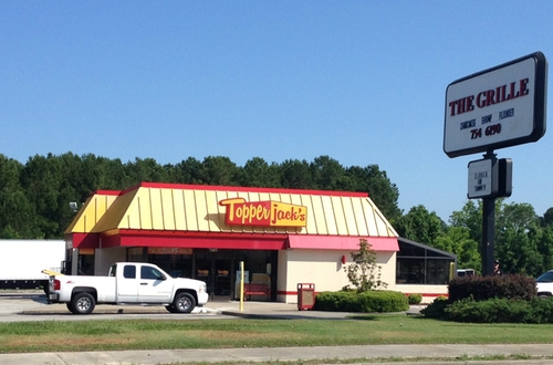 The Grille (Depicted as Topper Jack's) Shallotte, North Carolina in Tammy