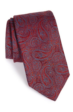 Paisley Silk Tie by Robert Talbott in The Mindy Project