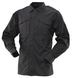 Ultralight Long Sleeve Uniform Shirt by 24-7 Series in Sabotage