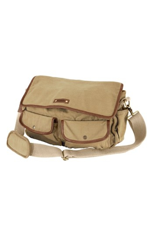 'Locust' Canvas Messenger Bag by A. Kurtz in Me and Earl and the Dying Girl