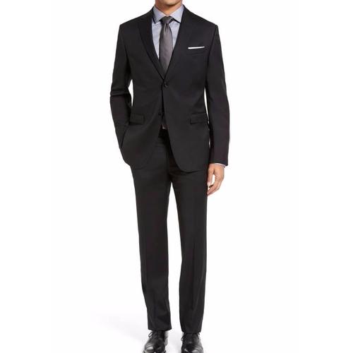 Drop 7 Trim Fit Wool Suit by Z Zegna in Billions - Season 1 Episode 2