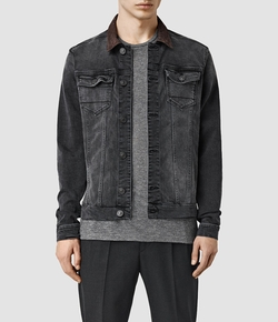 Bering Denim Jacket by AllSaints in Animal Kingdom