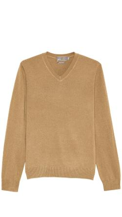 Cashmere V Neck Sweater by Vince in Get On Up