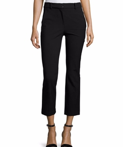 Straight Cropped Suit Pants by Rebecca Taylor in The Ranch