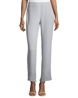 Flat-Front Cropped China Pants by Giorgio Armani in The Second Best Exotic Marigold Hotel