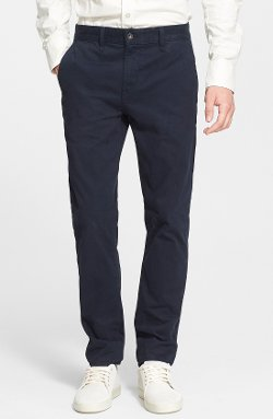 Slim Straight Chino Pants by Rag & Bone in That Awkward Moment