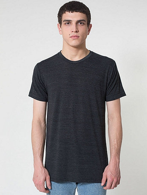 Tri-Blendshort Sleeve Track Shirt by American Apparel in 99 Homes