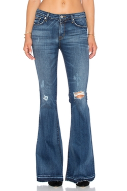 Mia Five Pocket Midrise Flare Jeans by Hudson Jeans in Modern Family
